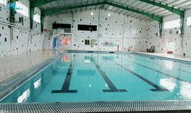 استخر شنا مجموعه الغدیر علی آباد کتول