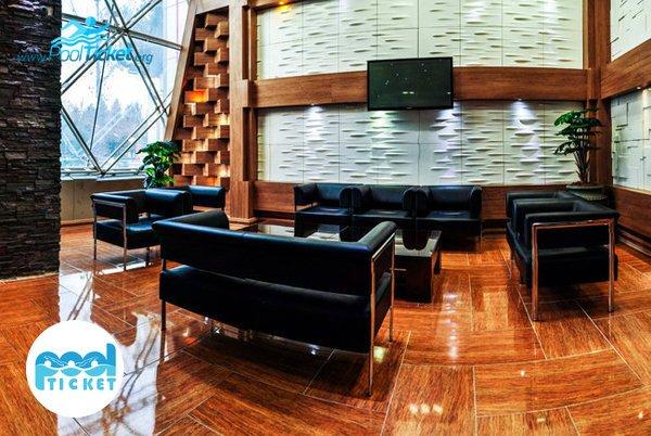 مبلمان استخر هتل پردیسان - پول تیکت