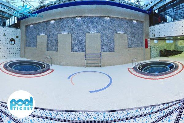 حوضچه آب سرد استخر هتل پردیسان - پول تیکت