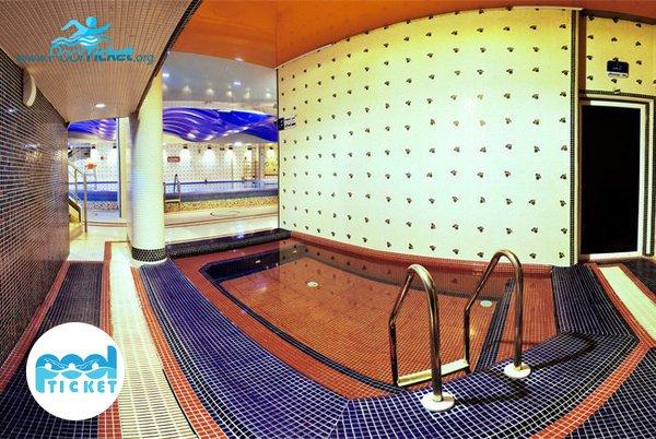 جکوزی هتل پردیسان مشهد