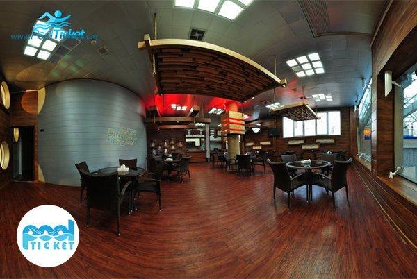 کافی شاپ زیبای استخر هتل پردیسان