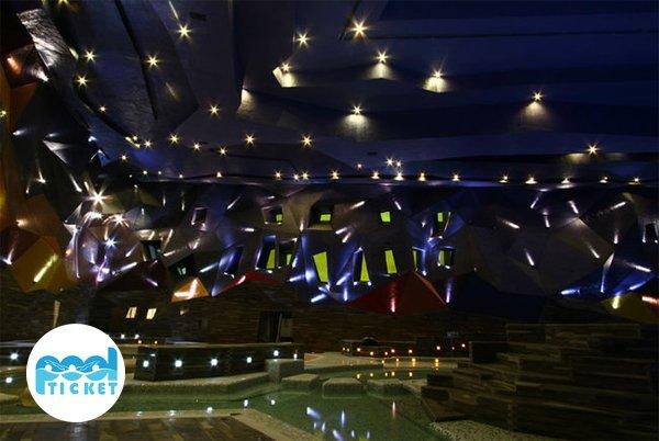 نورپردازی استخر آبسار اصفهان - بلیت