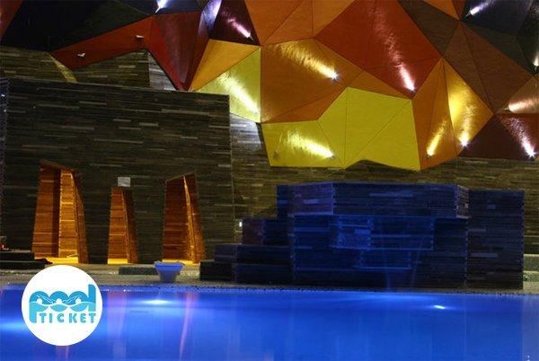 تریا زیبای استخر آبسار اصفهان - بلیت استخر