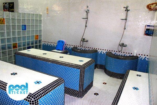 حمام سنتی استخر باغ صبا تهران