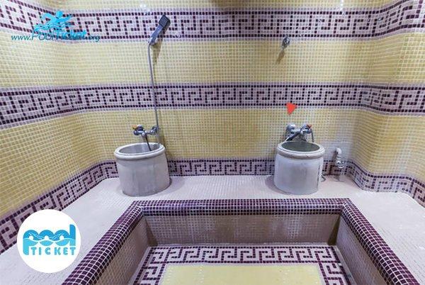 حمام ترکی استخر قصرآبی