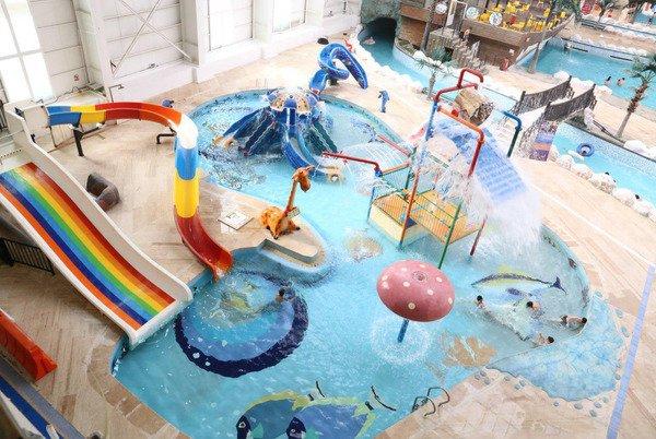 استخر پارک آبی دهکده آبی پارس - خرید بلیت استخر در پول تیکت