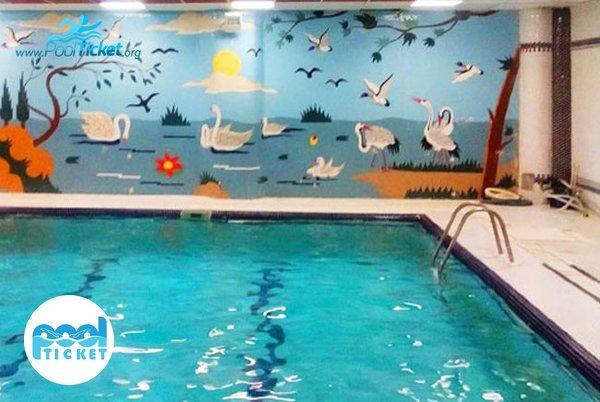 استخر شنا هتل پارس تهران - پول تیکت