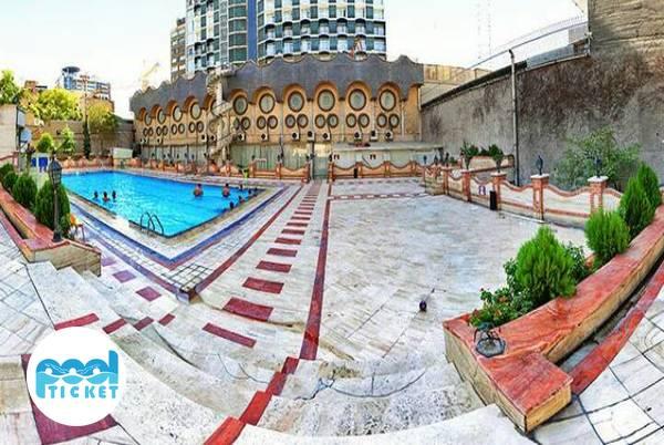 استخر چهار فصل هتل پارسیان انقلاب تهران