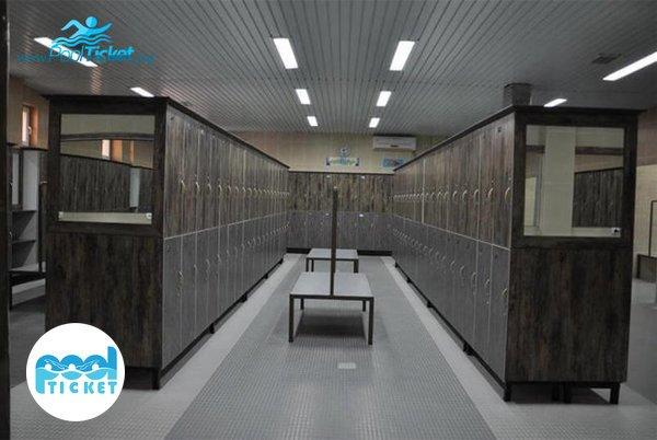 رختکن استخر پردیسان نور تهران - خرید بلیت استخر های تهران