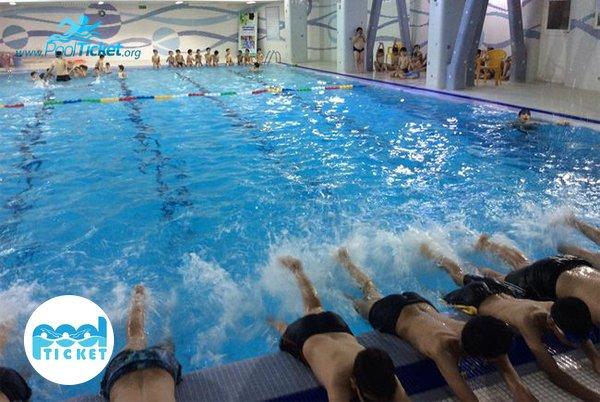 مدرسه شنا استخر شهید فهمیده - پول تیکت