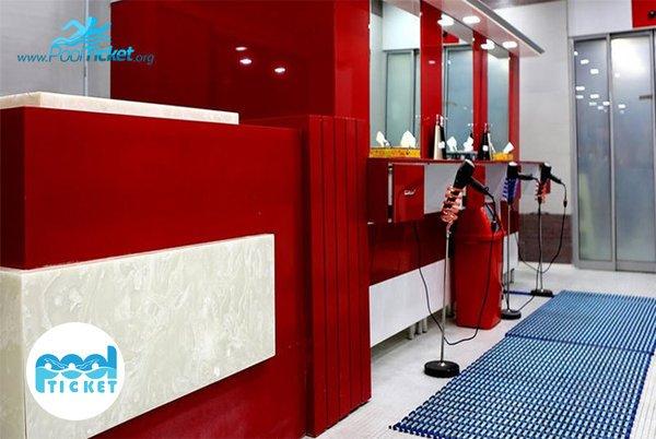 سالن آرایش آقایان استخر هتل ارم تهران