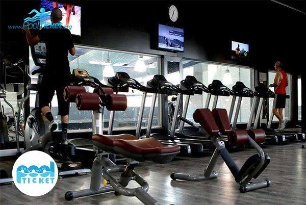 سالن بدن سازی استخر هتل ارم - خرید بلیط استخر