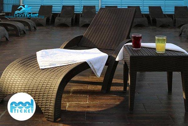 حمام آفتاب استخر هتل ارم - پول تیکت