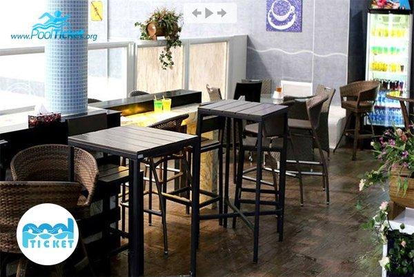 کافی شاپ آقایان استخر هتل ارم - مرکز خرید اینترنتی بلیط استخر