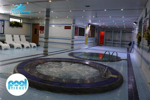 جکوزی استخر هتل ارم - تخفیف و خرید بلیت استخر
