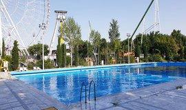 استخر روباز پارک ملت - استخر روباز در مشهد