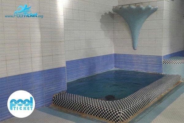 حوضچه آب سرد - تخفیف بلیت استخر عادل فر تهران