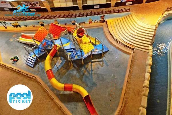 پارک آبی کودکان مجموعه آبی آب و تاب