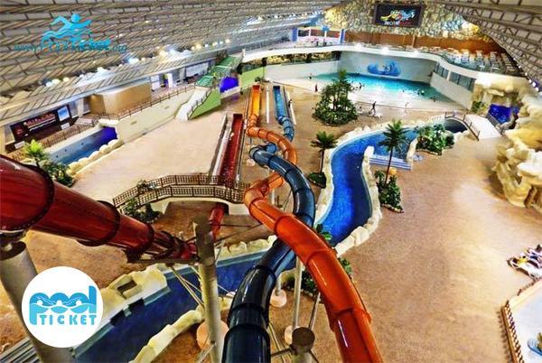 سرسره های پارک آبی آب و تاب قم - مرکز رزرو بلیت پارک آبی آب و تاب
