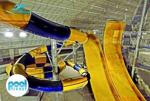 سرسره یو پارک آبی آب و تاب قم - مرکز خرید اینترنتی بلیط پارک آبی آب و تاب