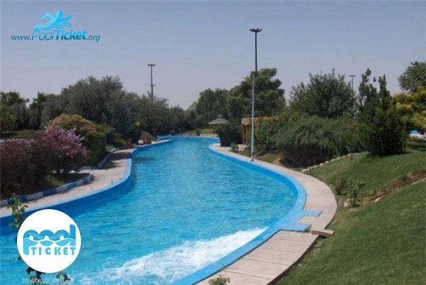 رودخانه آرام - تخفیف و خرید بلیت پارک آبی آزادگان تهران