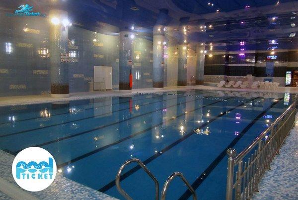 استخر هتل خورشید تابان مشهد