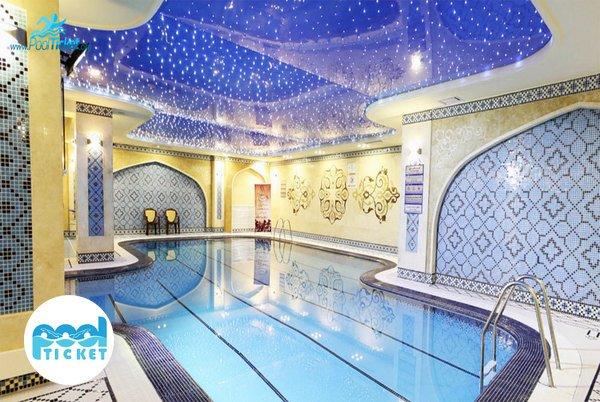 استخر زیبای هتل مدینة ارضا مشهد