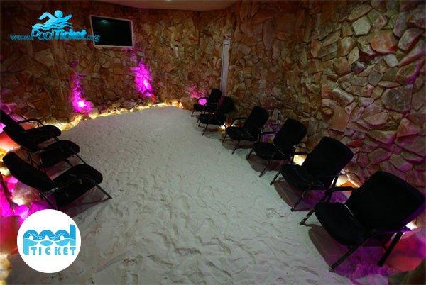 اتاق نمک پارک آبی ساحلی آفتاب - بلیت مجموعه آبی